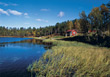 ponds lakes Finland creeks rivers stock photography