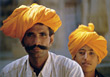 arabic ethnic male adults turbans men stock photo