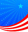 4th July American Independence . Vector Illustration With Stars stock illustration