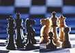 playing games chess stock image