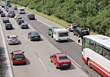 Traffic car parking bus accident highway dummies stock photo