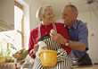 seniors active elderly retiring old stock photo