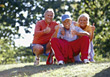 fitness acitve male people excercise seniors stock photography