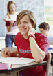 expression study education people kid teenage stock photo