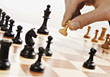 playing games chess chessboard stock image