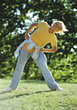Age exercising old fitness exercise leisure adult stock image