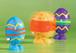 eastereggs Easter holidays decorations stock image
