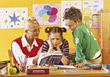 Teachers professionals students learn adult learning education stock image