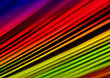 A4 Sized Abstract Rainbow Background stock image