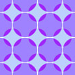 Abstract 3d Seamless Background. Simple Geometrical Pattern With Colored Intersecting Circles