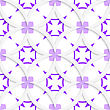 Abstract 3d Seamless Background. White Vertical Pointy Squares With Purple Layering And Cut Out Of Paper Effect stock vector
