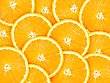 Abstract Background With Citrus-fruit Of Orange Slices. Close-up. Studio Photography stock image