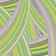 Abstract Background With Curved Bands Of Chaotic