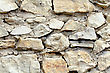 Abstract Background Of Stone Wall. Close-up. Outdoor Photography stock image