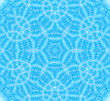 Abstract Background With Blue Concentric Pattern stock photography