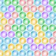 Abstract Balls Background. Vector Design