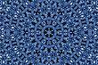 Abstract Blue Ornamental Background