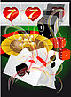 Abstract Casino. Abstract Background With Roulette; Card And Dices