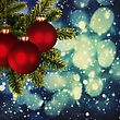 Abstract Christmas Backgrounds For Your Design stock image