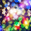 Abstract Christmas Backgrounds With Beauty Bokeh stock image