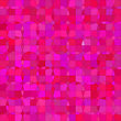 Abstract Circle Pink Background. Pink Mosaic Pattern