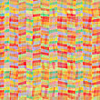 Abstract Color Background With Intersecting Geometric Figures, Vintage Paper Texture