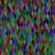 Abstract Colorful Background. Multicolored Geometric Retro Pattern