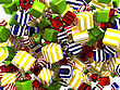 Abstract Colorful Cubes Or Candies
