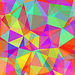 Abstract Colorful Polygonal Background. Abstract Triangle Pattern