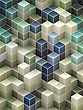Abstract Cubic Backgrounds For Your Design
