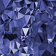 Abstract Digital Polygonal Blue Background. Abstract Triangular Pattern
