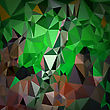 Abstract Digital Polygonal Colored Background. Abstract Triangular Pattern