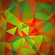 Abstract Geometric Polygonal Background. Abstract Polygonal Pattern
