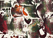 Abstract Graffiti Art stock photography
