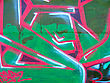Abstract graffiti on wall stock image