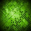 Abstract Green Grunge Technical Background. Vector Design Eps 10
