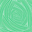 Abstract Green Wave Background. Abstract Wave Pattern