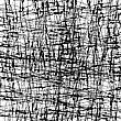 Abstract Grunge Texture. Black Ink Background. Dirty Monochrome Pattern. Brush Painted Design Element