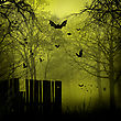 Abstract Halloween Backgrounds With Copy Space For Your Design stock illustration