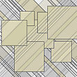 Abstract Lines Squares Vector Background