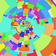 Abstract Mosaic Colorful Background For Your Design
