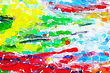 Abstract Oil Paint Colorful Background stock image