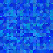 Abstract Ornamental Blue Background. Abstract Geometric Pattern