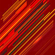 Abstract Red Line Background. Abstract Geometric Red Pattern
