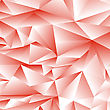 Abstract Red Polygonal Background. Abstract Red Polygonal Pattern