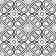 Abstract Seamless Background. Detailed Ornament With White Lines And Wavy Triangles And Cut Out Of Paper Effect