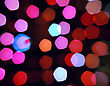 Abstract Spots Of Lights stock photography