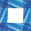 Abstract Vector Background. Blue Stripes Design