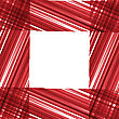 Abstract Vector Background. Red Stripes Design