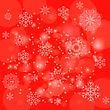 Abstract Winter Snow Background. Abstract Winter Pattern. Snowflakes Background